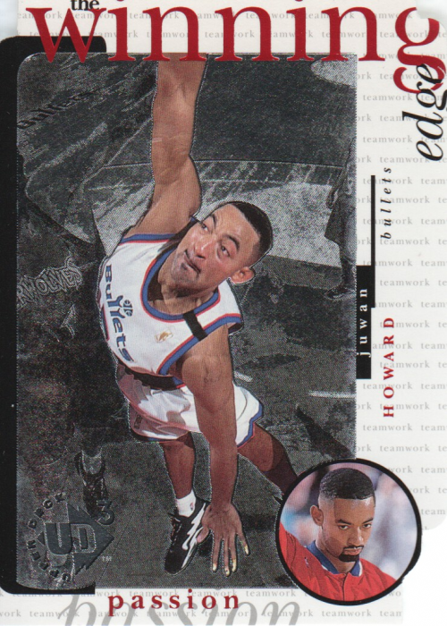 1996-97 UD3 The Winning Edge #W11 Juwan Howard