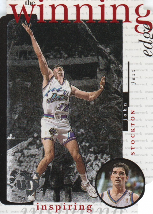 1996-97 UD3 The Winning Edge #W12 John Stockton