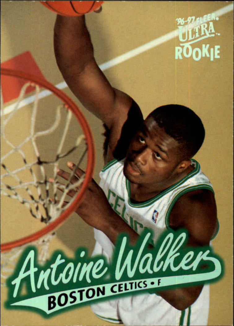 1996-97 Ultra #9 Antoine Walker RC
