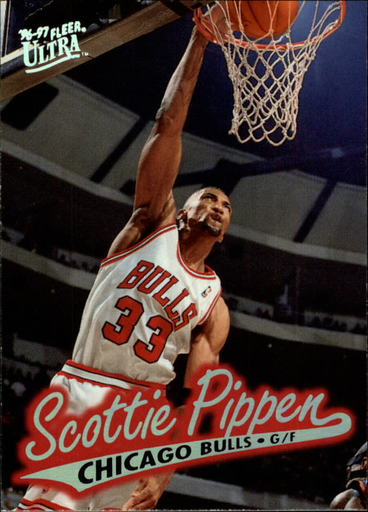 1996-97 Ultra #18 Scottie Pippen