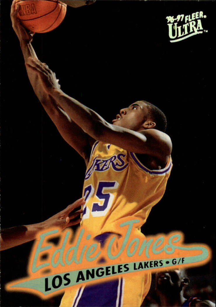 1996-97 Ultra #54 Eddie Jones