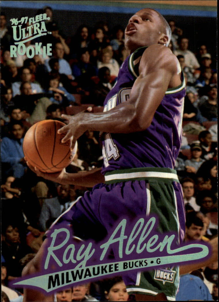 1996-97 Ultra #60 Ray Allen RC