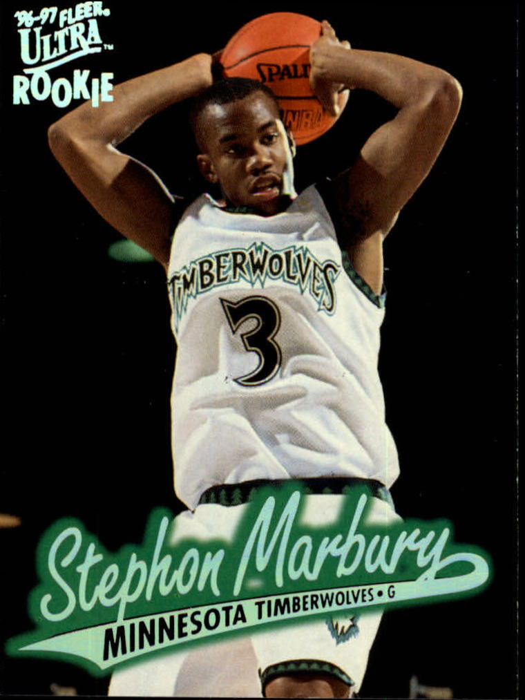 1996-97 Ultra #66 Stephon Marbury RC