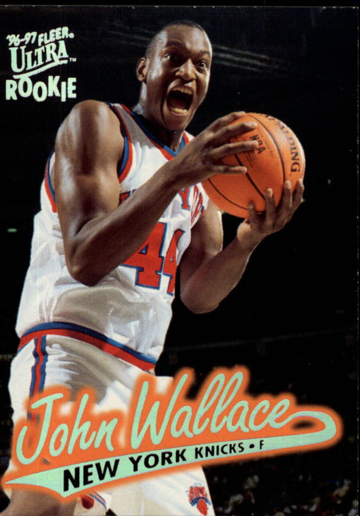 1996-97 Ultra #76 John Wallace RC