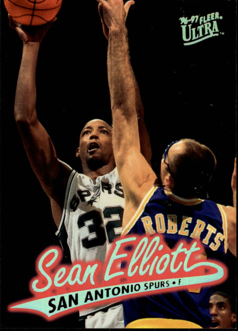 1996-97 Ultra #99 Sean Elliott