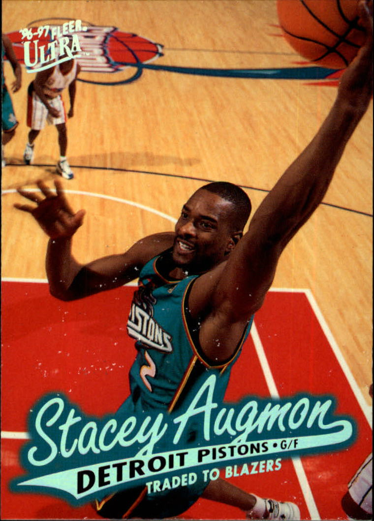 1996-97 Ultra #177 Stacey Augmon