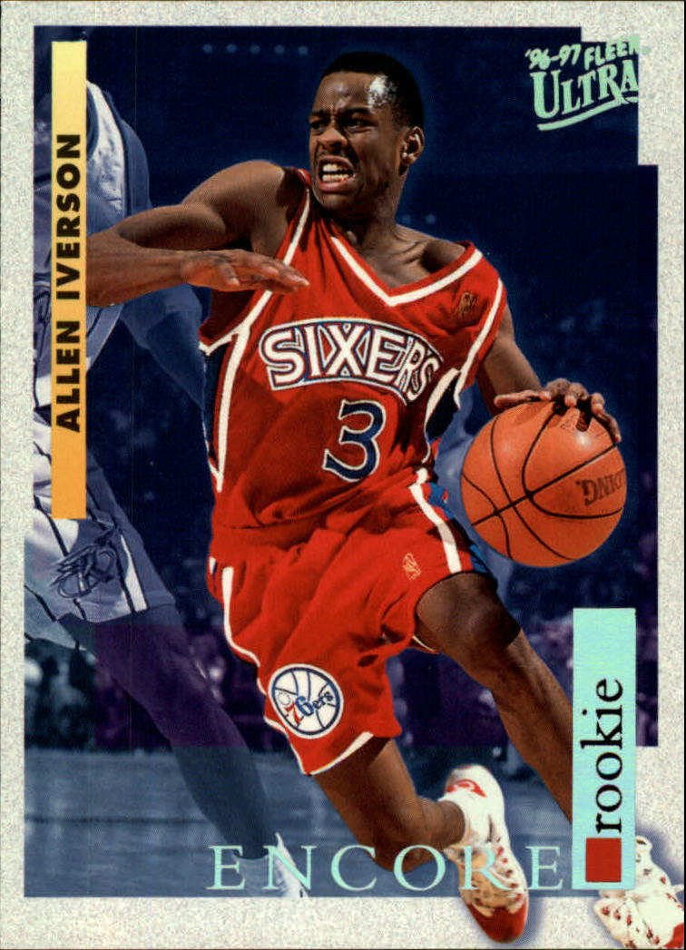 1996-97 Ultra #270 Allen Iverson RE