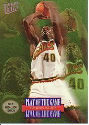 1996-97 Ultra Gold Medallion #G292 Shawn Kemp PG