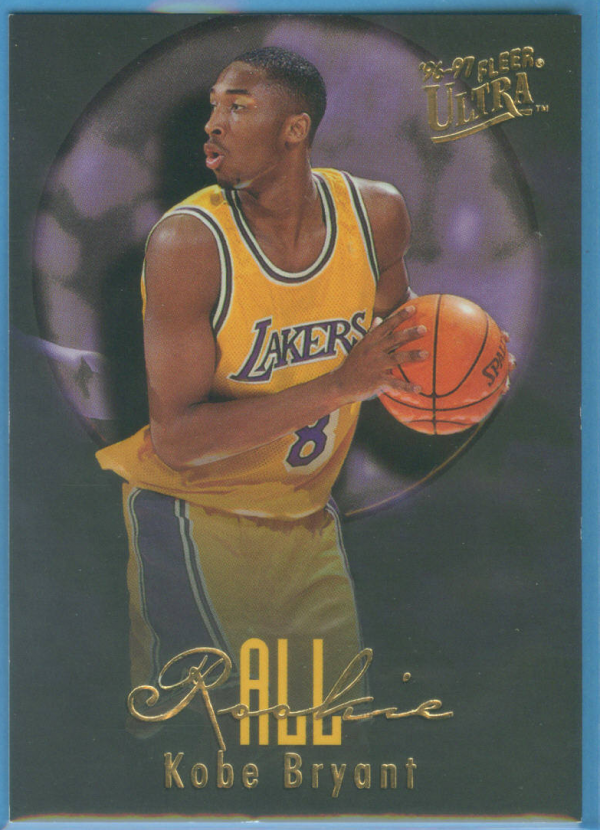 1996-97 Ultra All-Rookies #3 Kobe Bryant