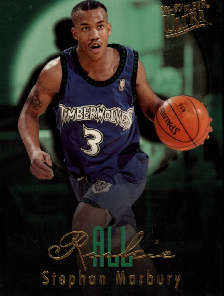 1996-97 Ultra All-Rookies #10 Stephon Marbury
