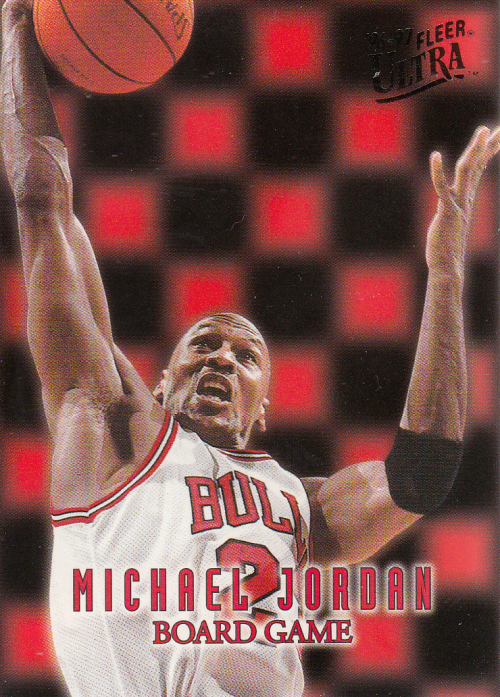 1996-97 Ultra Board Game #7 Michael Jordan