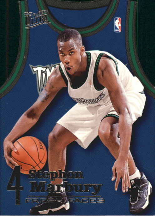 1996-97 Ultra Fresh Faces #7 Stephon Marbury
