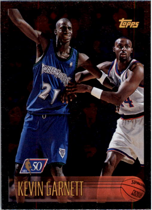 1996-97 Topps NBA at 50 #131 Kevin Garnett