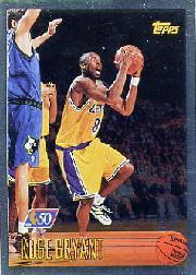 1996-97 Topps NBA at 50 #138 Kobe Bryant