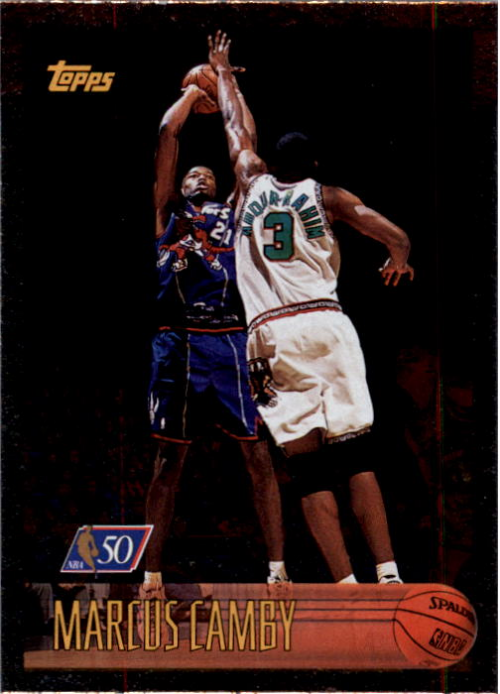 1996-97 Topps NBA at 50 #161 Marcus Camby