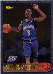 1996-97 Topps NBA at 50 #177 Stephon Marbury