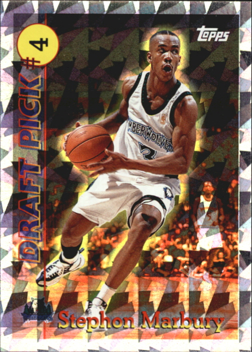 1996-97 Topps Draft Redemption #4 Stephon Marbury