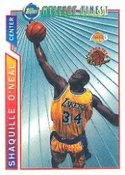 1996-97 Topps Mystery Finest Bordered Refractors #M12 Shaquille O'Neal