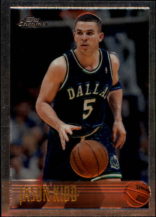 1996-97 Topps Chrome #5 Jason Kidd