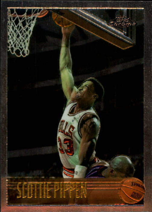 1996-97 Topps Chrome #33 Scottie Pippen
