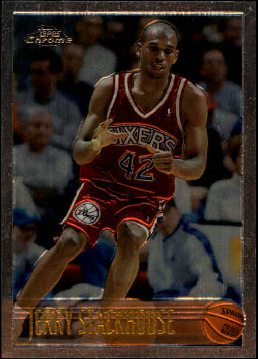 1996-97 Topps Chrome #42 Jerry Stackhouse