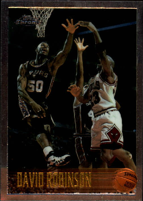 1996-97 Topps Chrome #80 David Robinson