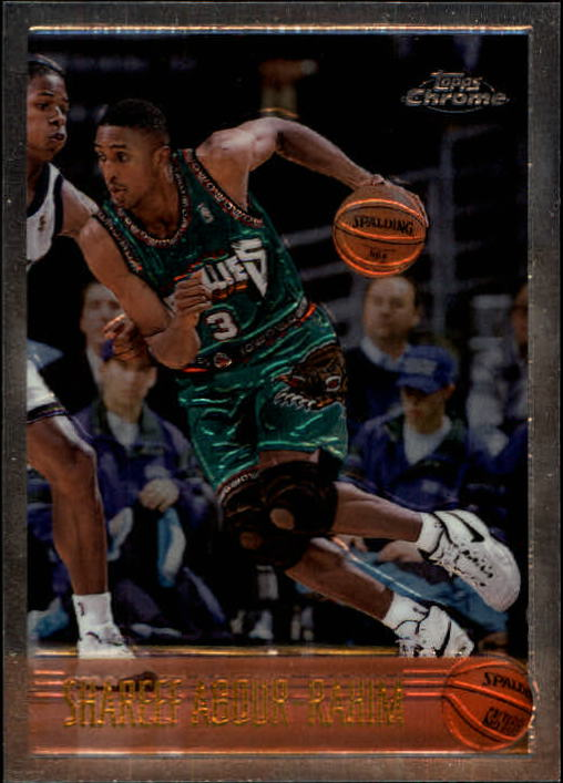 1996-97 Topps Chrome #128 Shareef Abdur-Rahim RC