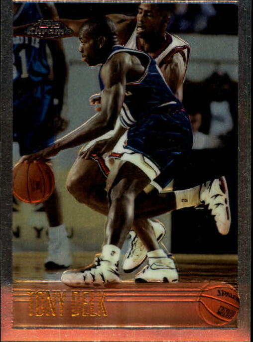 1996-97 Topps Chrome #155 Tony Delk RC