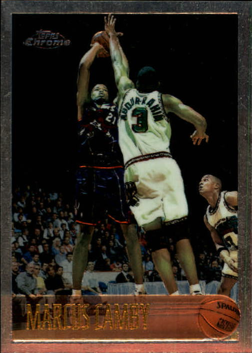 1996-97 Topps Chrome #161 Marcus Camby RC