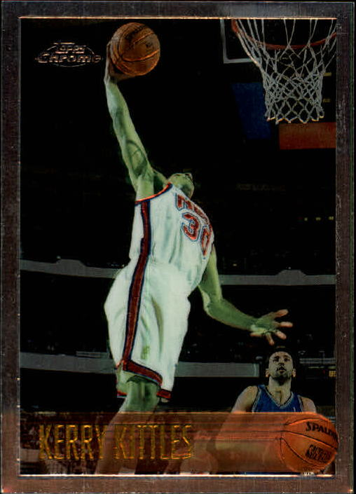 1996-97 Topps Chrome #198 Kerry Kittles RC