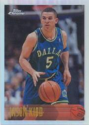 1996-97 Topps Chrome Refractors #5 Jason Kidd