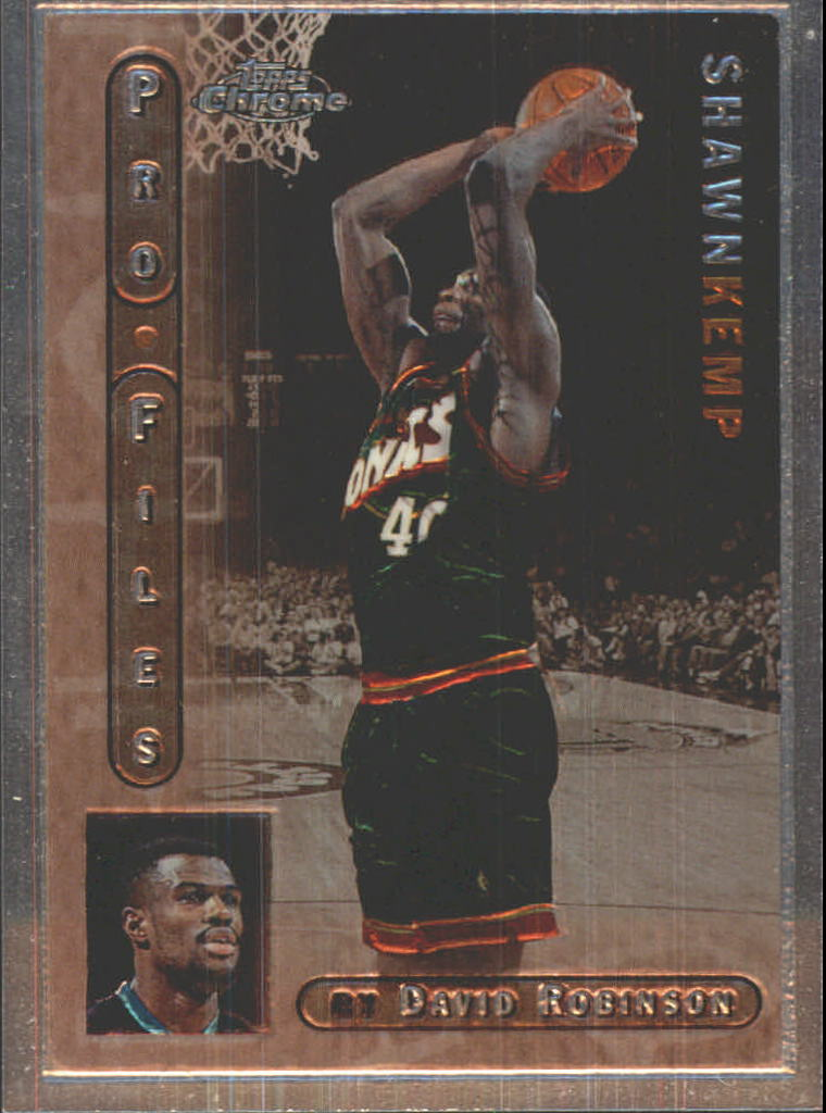 1996-97 Topps Chrome Pro Files #PF2 Shawn Kemp