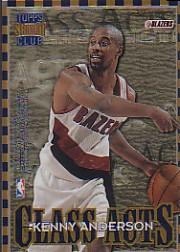 1996-97 Stadium Club Class Acts #CA8 Stephon Marbury/Kenny Anderson