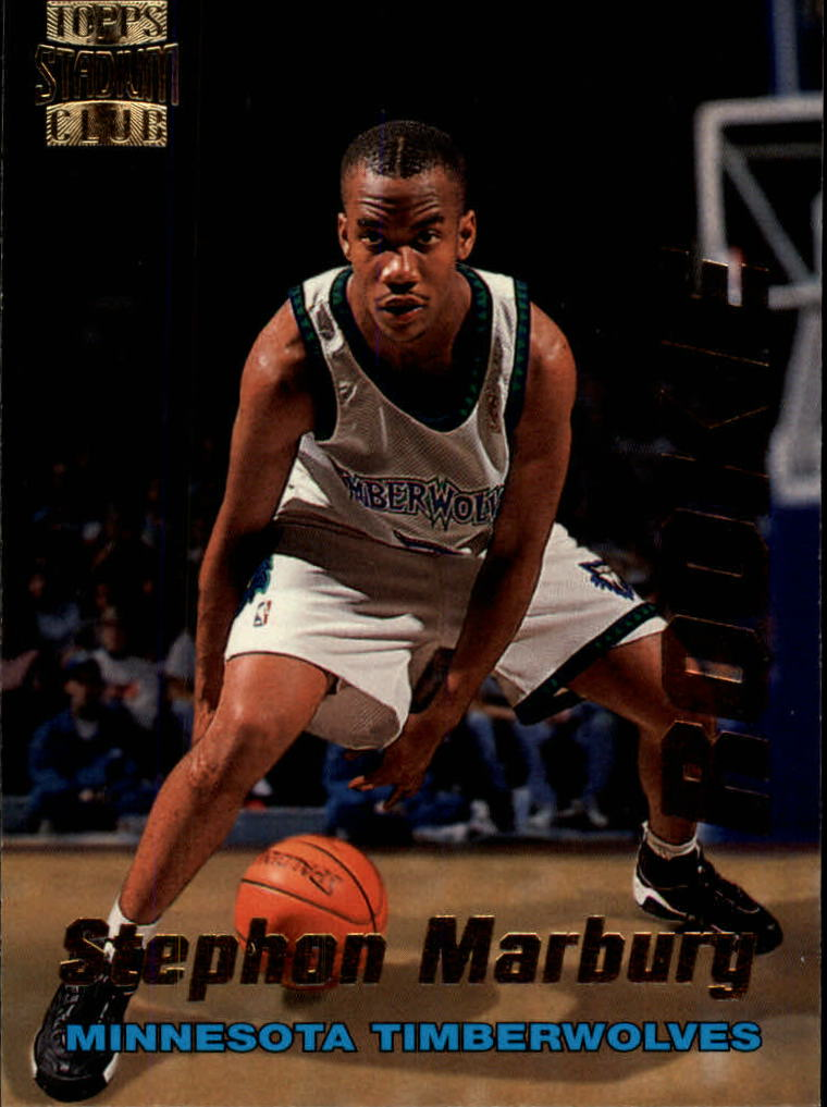 1996-97 Stadium Club Rookies 1 #R4 Stephon Marbury