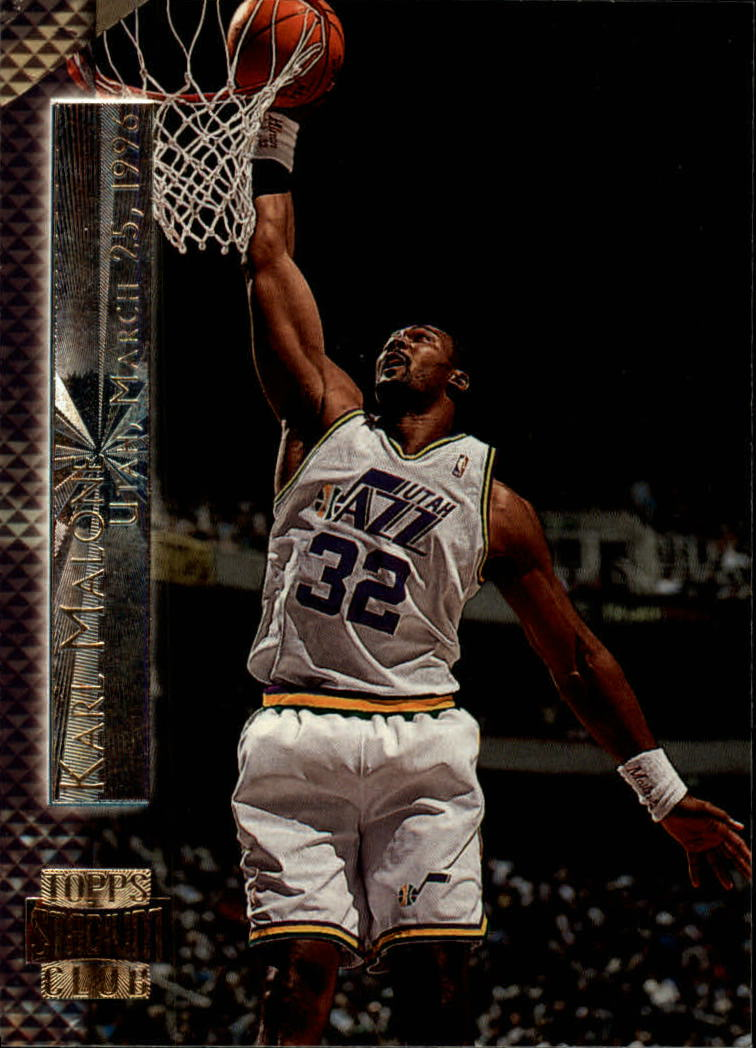 1996-97 Stadium Club Shining Moments #SM3 Karl Malone