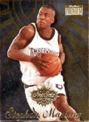 1996-97 SkyBox Premium Net Set #12 Stephon Marbury