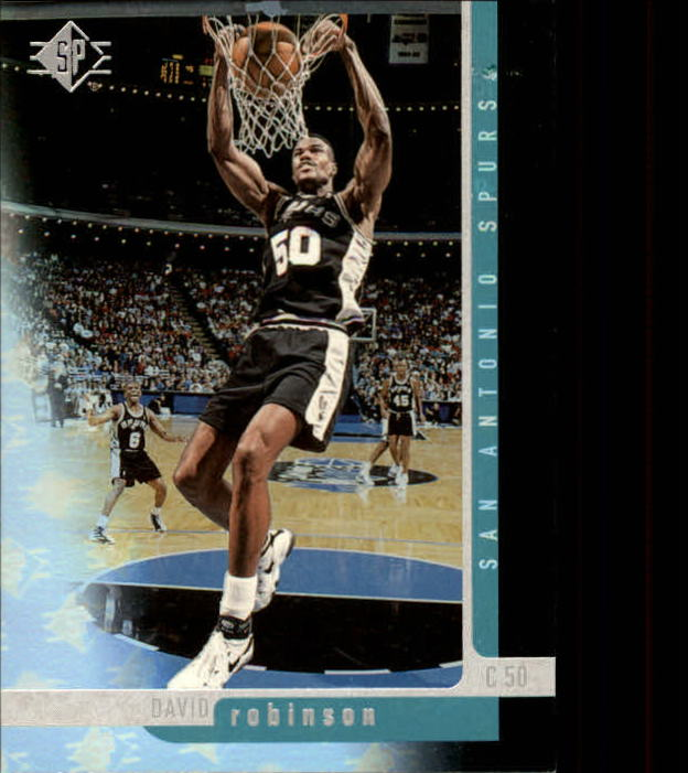 1996-97 SP #102 David Robinson