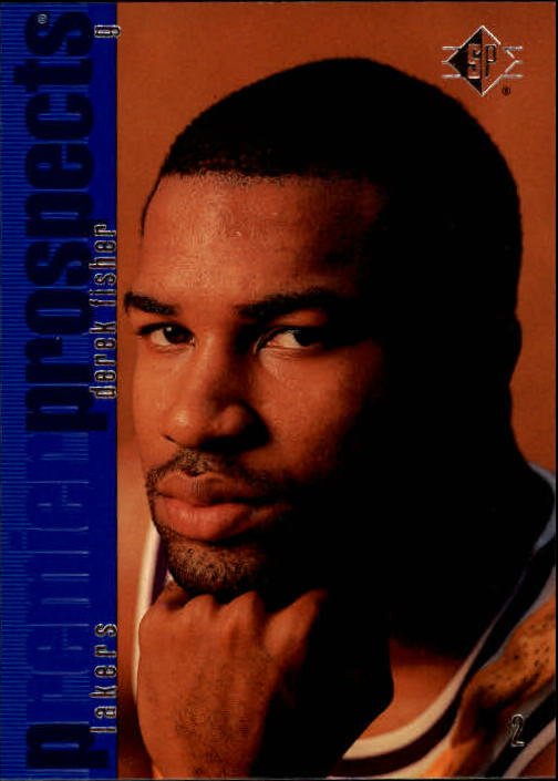 1996-97 SP #135 Derek Fisher RC