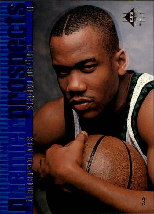 1996-97 SP #137 Stephon Marbury RC
