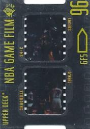 1996-97 SP Game Film #GF5 Shaquille O'Neal