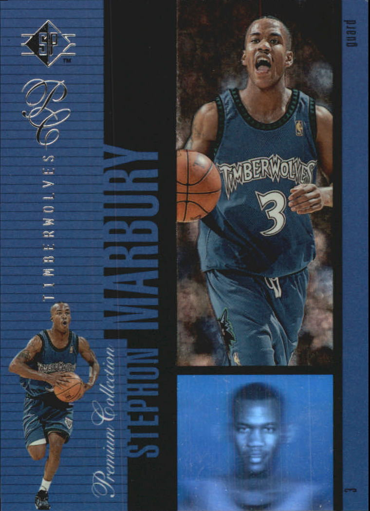1996-97 SP Holoviews #PC23 Stephon Marbury