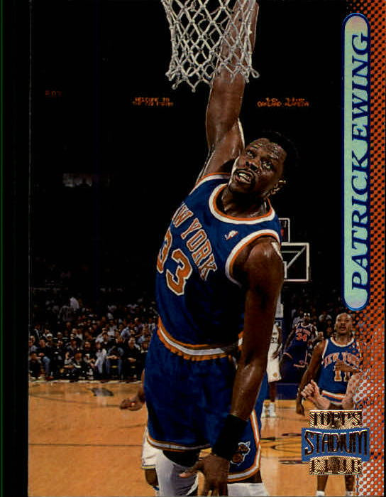 1996-97 Stadium Club #12 Patrick Ewing