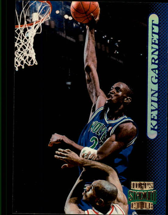 1996-97 Stadium Club #59 Kevin Garnett