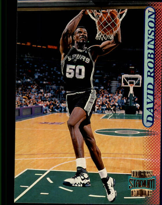 1996-97 Stadium Club #78 David Robinson