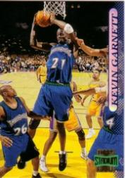 1996-97 Stadium Club #177 Kevin Garnett