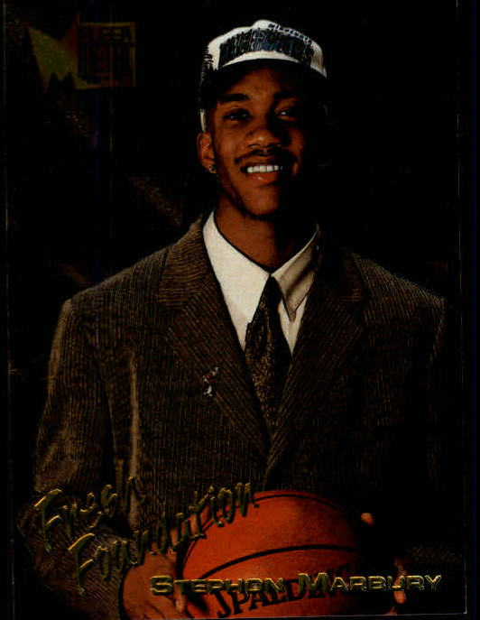 1996-97 Metal #134 Stephon Marbury FF RC