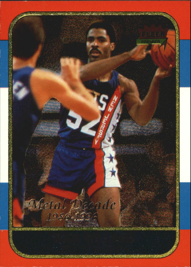 1996-97 Metal Decade of Excellence #M10 Buck Williams