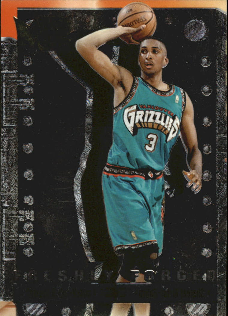 1996-97 Metal Freshly Forged #1 Shareef Abdur-Rahim