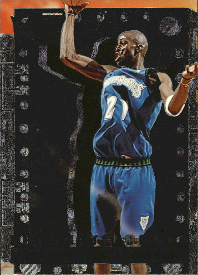 1996-97 Metal Freshly Forged #5 Kevin Garnett