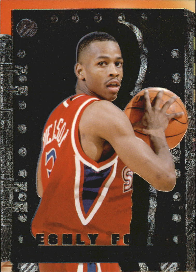 1996-97 Metal Freshly Forged #8 Allen Iverson